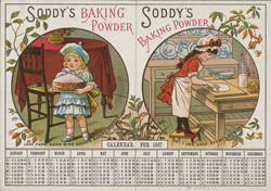 Advert for Soddy's baking powder 4238